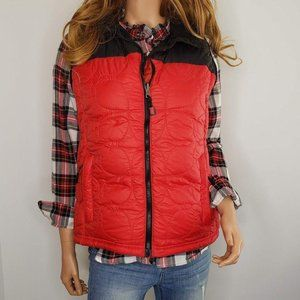 L.L. Bean Down Puffer Vest Quilted Medium
